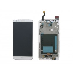 Ecran LCD + Tactile Complet LG G2 Blanc