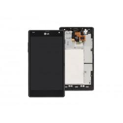 Ecran LCD + Tactile Complet LG Optimus G E975 Noir