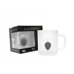 Mug Game of Thrones - Mug Lannister en verres Logo 3D Rotatif