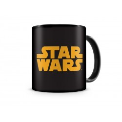 Mug Star Wars - Logo Star Wars Noir et Orange 320ml