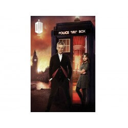 Poster Doctor Who - London Fire 61x92cm