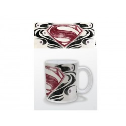 Mug Superman Man Of Steel - Logo Tribal 320ml