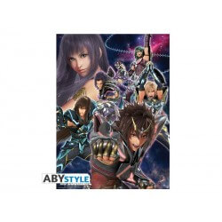 Poster Saint Seiya Movie - Chevaliers d'Athena 52x38cm