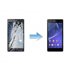 Changement Ecran Tactile + LCD Complet Sony Xperia Z2