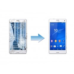 Changement Ecran Tactile + LCD Complet Sony Xperia Z3 Compact