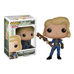 Figurine Fallout - Lone Wanderer Female Pop 10cm