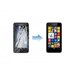 Changement Ecran LCD + Tactile Complet Nokia Lumia 630 - 635
