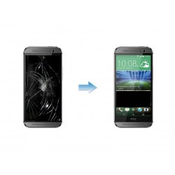 Changement Ecran LCD + Tactile Complet HTC ONE M8