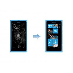 Changement Ecran LCD + Tactile Complet Nokia Lumia 800