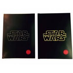 Notebook Lumineux Stars Wars - Logo Jaune Exclu