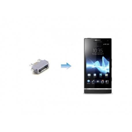 Changement connectique Alimentation Sony Xperia S – LT261