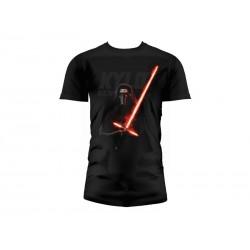 T-Shirt - Star Wars Episode 7- Homme Kylo Ren Lightsaber Taille L