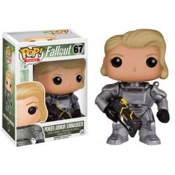 Figurine Fallout - Female Warrior In Power Armor Exclu Pop 10cm