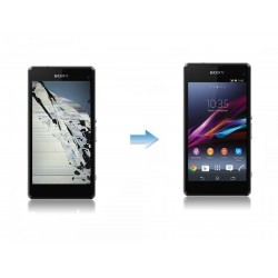 Changement Ecran Tactile + LCD Complet Sony Xperia Z1 Compact