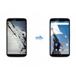 Changement Ecran LCD + Tactile Complet LG Nexus 6 M0E10
