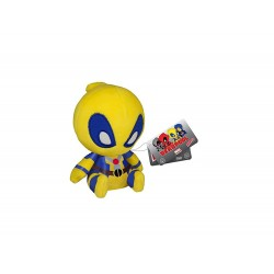 Peluche Marvel - Deadpool Jaune Mopeez 10cm