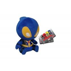 Peluche Marvel - Deadpool Bleu Mopeez 10cm