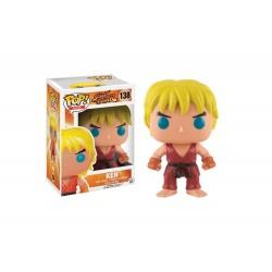 Figurine Street Fighter - Hot Ken Pop 10cm