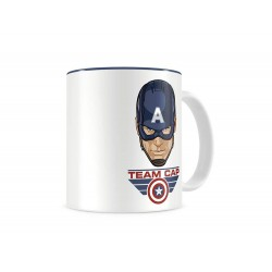 Mug Marvel Civil War - Team Captain Blanc & Bleu