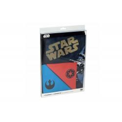 Set 4 Sets de Table Star Wars - Vaisseaux avec Serviettes logos