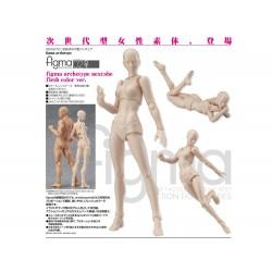Figurine Archetype Femme Couleur Chair 14cm