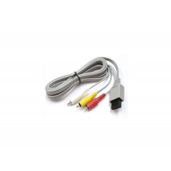 Cable AV TV pour Wii Officiel [Occasion]
