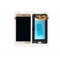 Ecran LCD + Tactile Assemblé Samsung Galaxy J7 ( 2016 ) Gold J710F