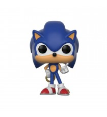 Figurine Sonic - Sonic With Ring Pop 10cm