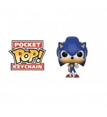 Porte Clé Sonic - Sonic With Ring Pocket Pop 4cm