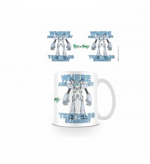 Mug Rick & Morty - Where are my Testicles