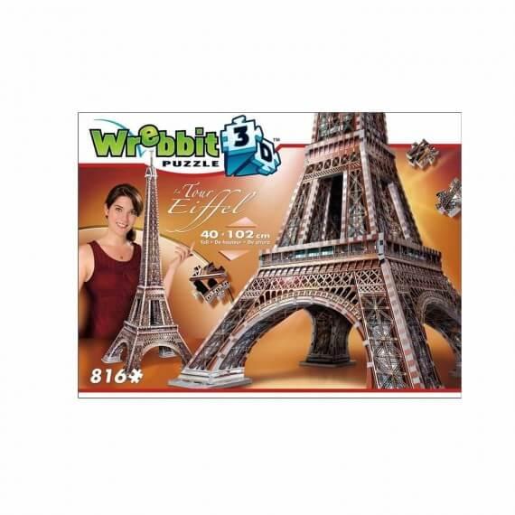 Puzzle 3D Monument - Tour Eiffel 816 Pièces