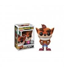 Figurine Crash Bandicoot - Crash Flocked Exclu Pop 10cm
