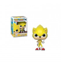 Figurine Sonic - Super Sonic Exclu Pop 10cm