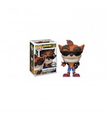 Figurine Crash Bandicoot - Crash Biker Outfit Exclu Pop 10cm