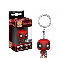 Porte Clé Marvel - Deadpool Bedtime Exclu Pocket Pop 4cm