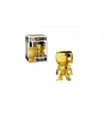 Figurine Marvel Studios 10Th Anniversary - Chrome Iron Man Pop 10cm