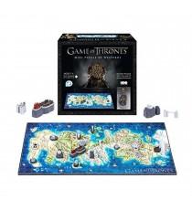 Puzzle 3D Game Of Thrones - Carte De Westeros 350 Pcs