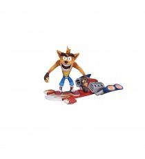 Figurine Crash Bandicoot - Crash Bandicoot Hoverboard 14cm