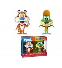 Figurine Ad Icons - Tony The Tiger & Dig Em Frog Exclu Vynl 10cm