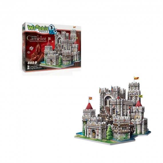 Puzzle 3D Monument - Camelot 865 Pièces