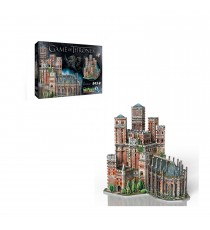 Puzzle 3D Game Of Thrones - Le Donjon Rouge 845 Pcs