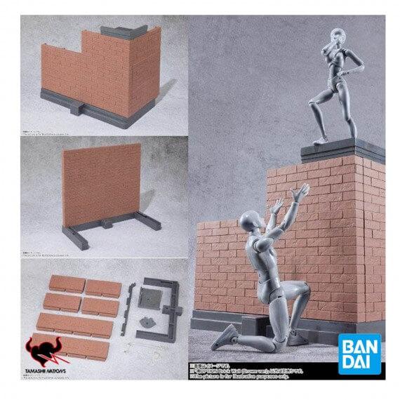 Base Effet Brick Wall Marron