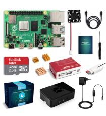 Starter Kit Raspberry Pi 4 Modèle B 32 Go