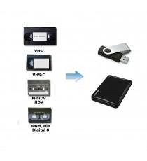 Devis Transfert VHS, S-VHS, VHS-C, Hi8, Video 8, Digital 8, MiniDV