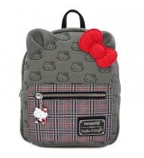 Mini Sac A Dos Hello Kitty - Hello Kitty Plaid Fashion
