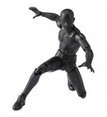Figurine Homme Body Couleur Gris Sh Figuarts 13cm