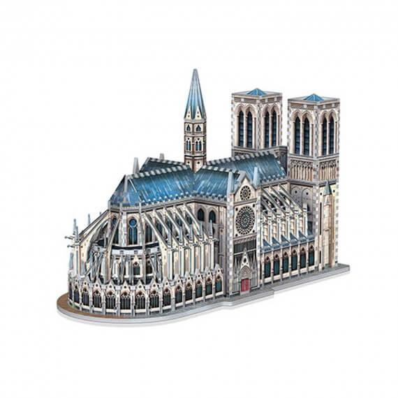 Puzzle 3D Monument -La Cathédrale Notre-Dame 830 Pièces