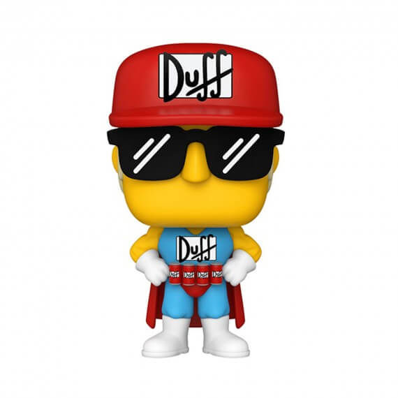 Figurine Simpsons - Duffman Pop 10cm