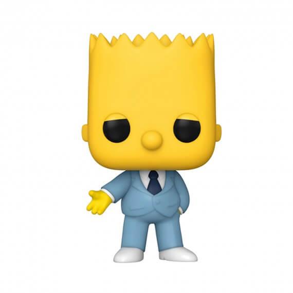 Figurine Simpsons - Mafia Bart Pop 10cm