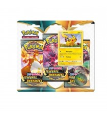 Pokemon - Pack 3 Boosters Fin D'Année 2020